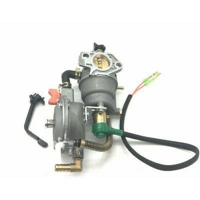 Carburetor Dual Fuel Engine Generator For Honda GX390 188F 5