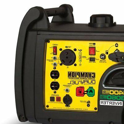Champion Watt Portable Quiet Electric Start Fuel Generator