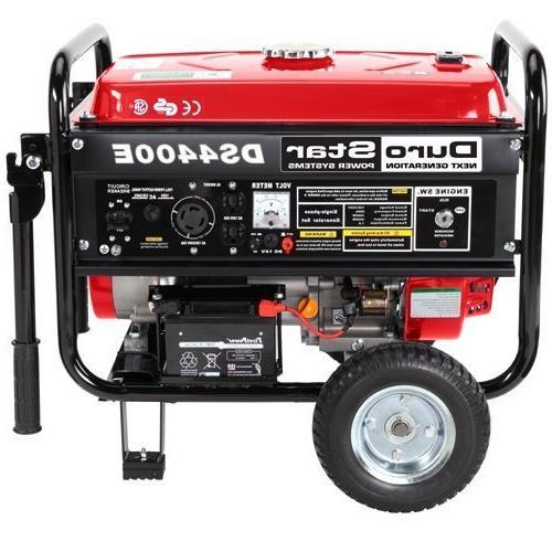 Durostar DS4400E, 3500 Running Watts/4400 Starting Powered Portable