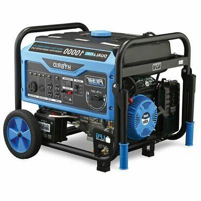 Pulsar 10,000 Watts Dual Fuel Gas/Propane Generator w/ Elect