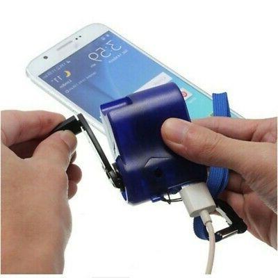Durable Emergency Hand Crank Dynamo Phone Fast Charging
