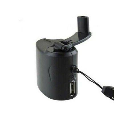 Durable Emergency Hand Dynamo Generator Fast Charger