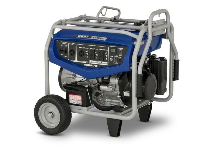 Yamaha EF7200D - Watt Portable Generator
