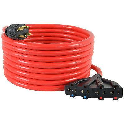 Conntek Power Cord, 25-Foot 30A Male Plug Female