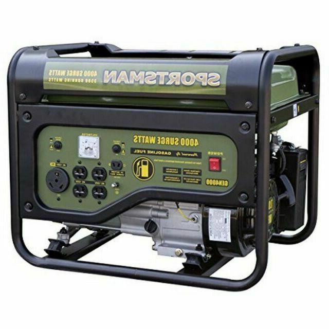 gen4000 4000w gasoline portable generator