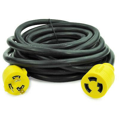 Leisure 3 Prong 30 Amp Generator Extension Cord