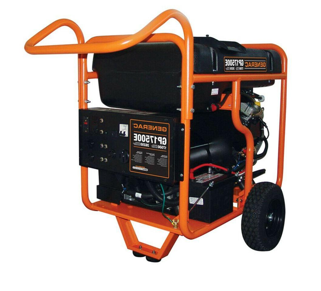 gp17500e 17500 watt portable generator hurricane emergency