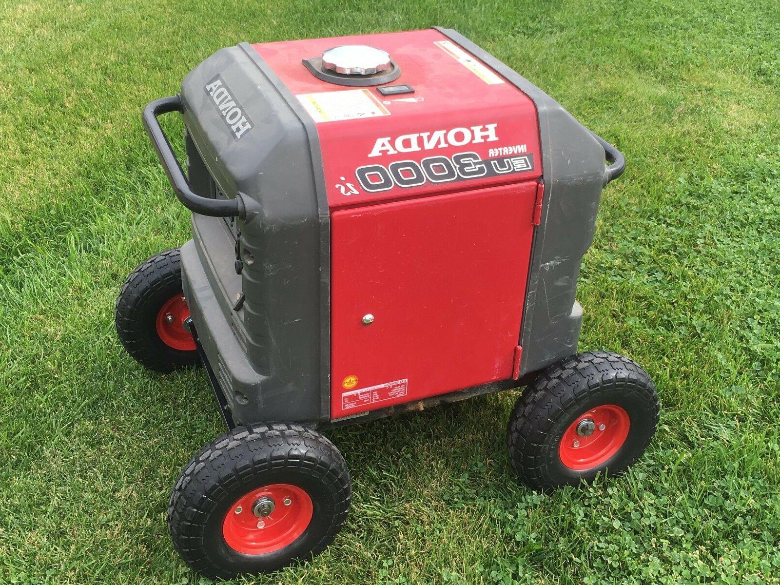 honda generator wheel kit for eu3000is air