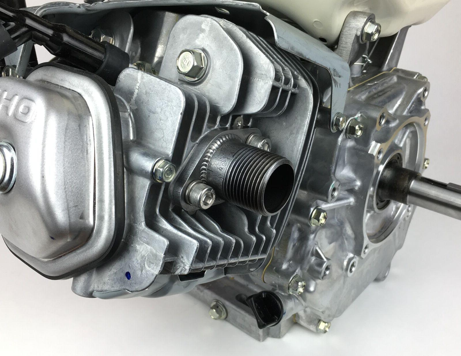 honda gx390 threaded exhaust adaptor flange generator