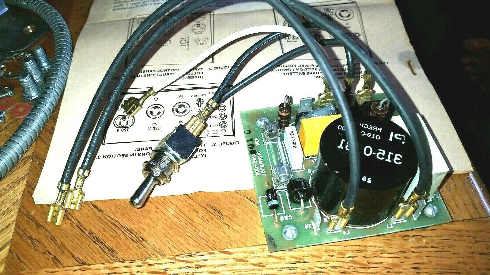 idlematic generator load control governor circuit board