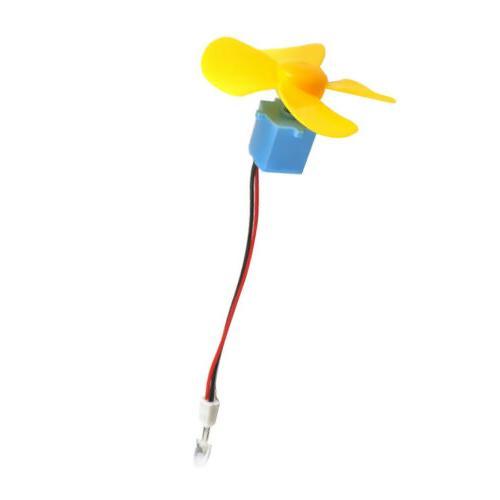 Micro Wind Turbine DC Display DIY
