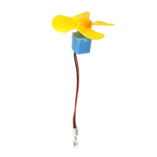 Micro Wind DC Display Kids Toy DIY
