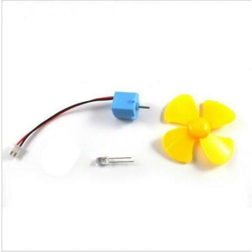 Micro Turbine DC LED Display Toy DIY