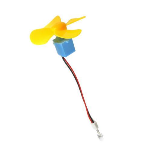 micro wind turbine generator dc motor led