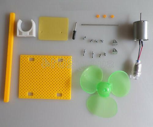 Micro Wind Small DC Blades W/ Holder DIY Kit