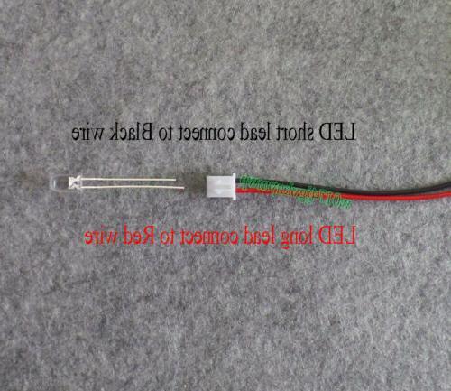 Mini Generator Mini DC w Blades LED For Project Kits