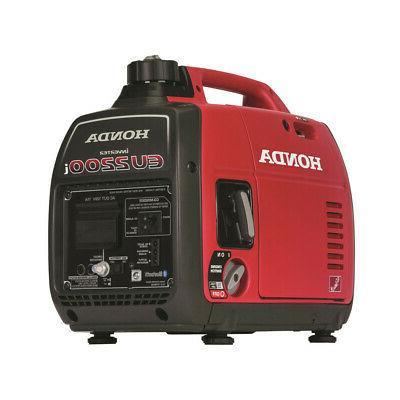new 2200 watt gasoline portable inverter generator