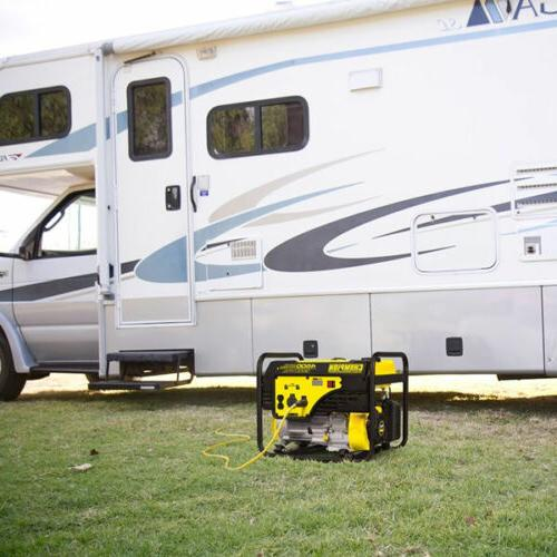 Champion - 3650 Watt Portable Generator RV Plug