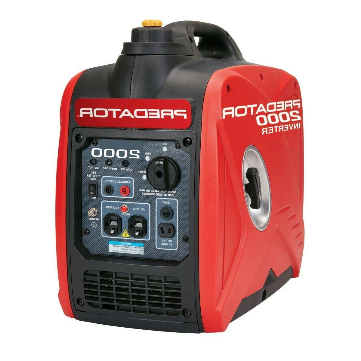 Predator 62523 2000W Super Quiet Portable Inverter Generator
