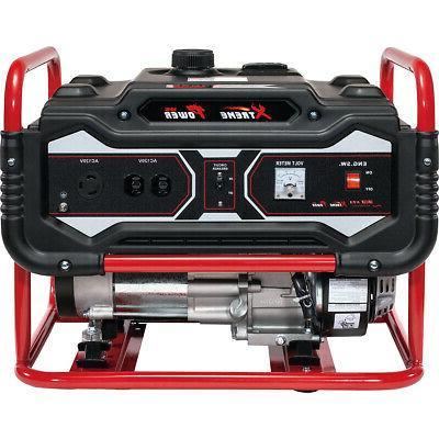 Portable Gas Generator 4000 Watt Emergency Lifan Engine Powe