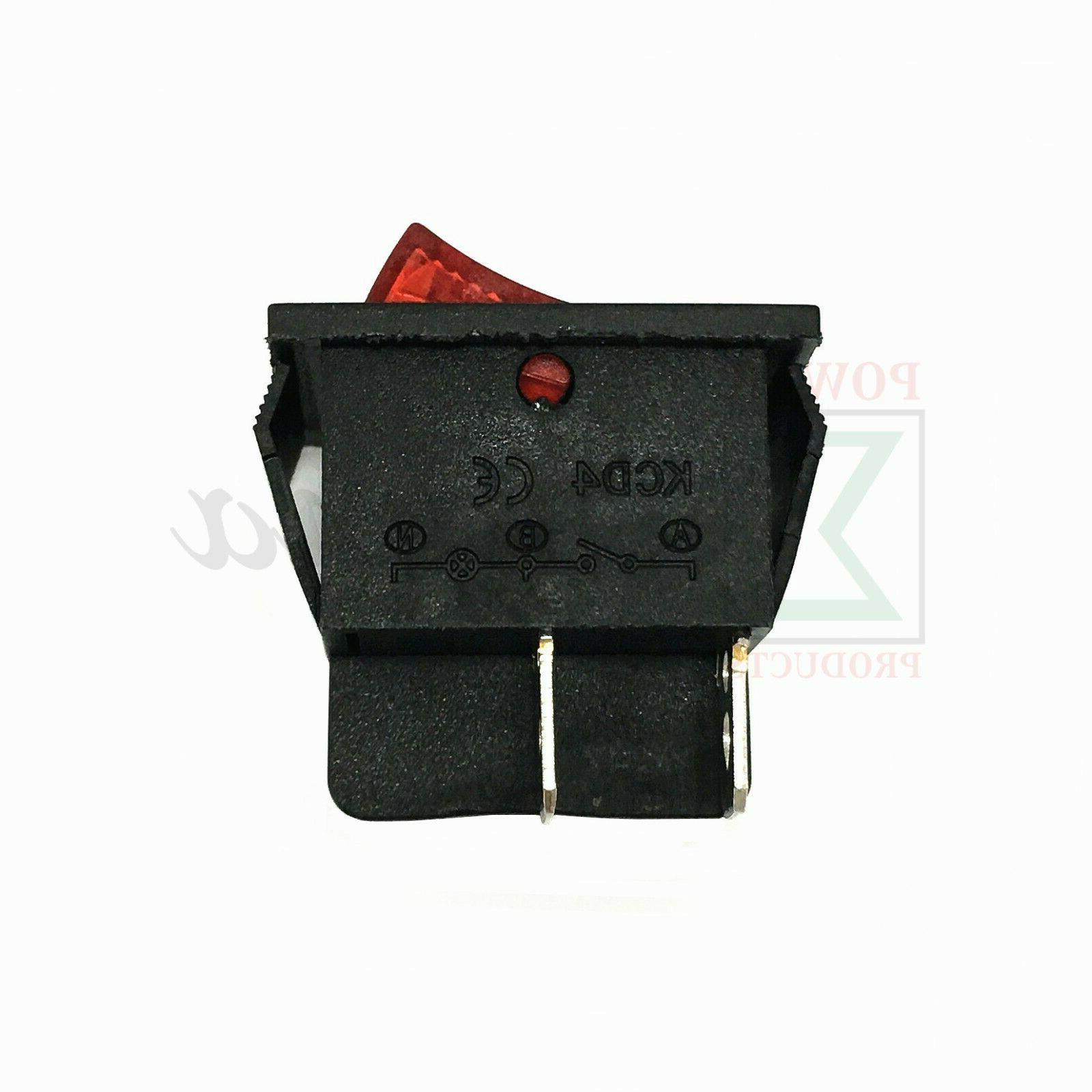 Red 4 On Off Switch P54296 For WEN Recoil Gasoline Generator