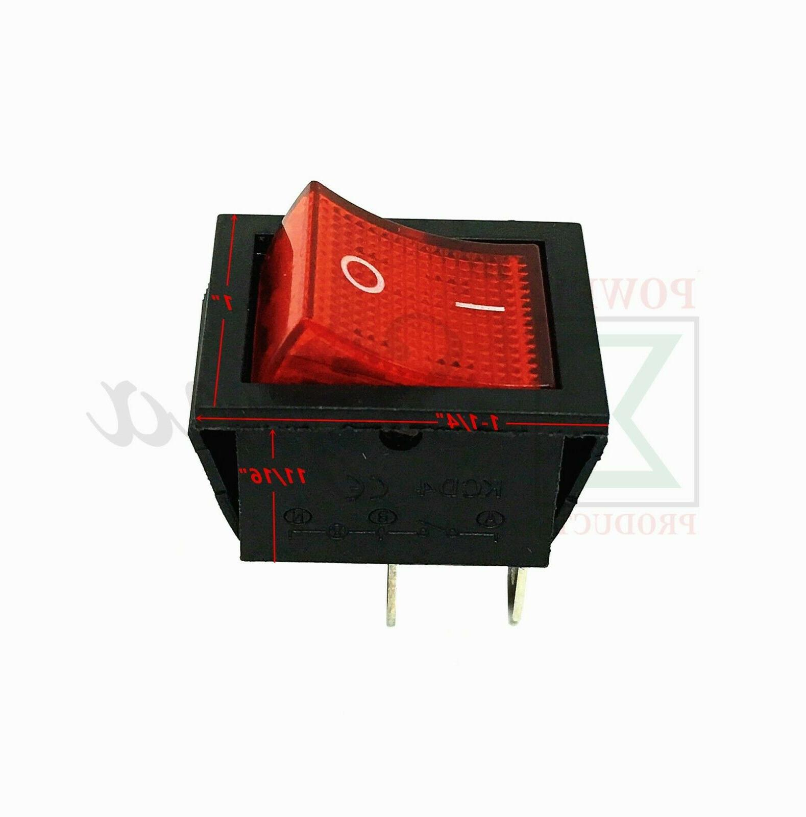 Red Pin On Off Replaces For Gasoline Generator
