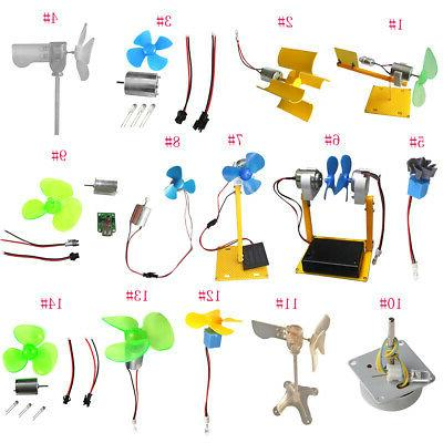small wind turbines generator dc motor led