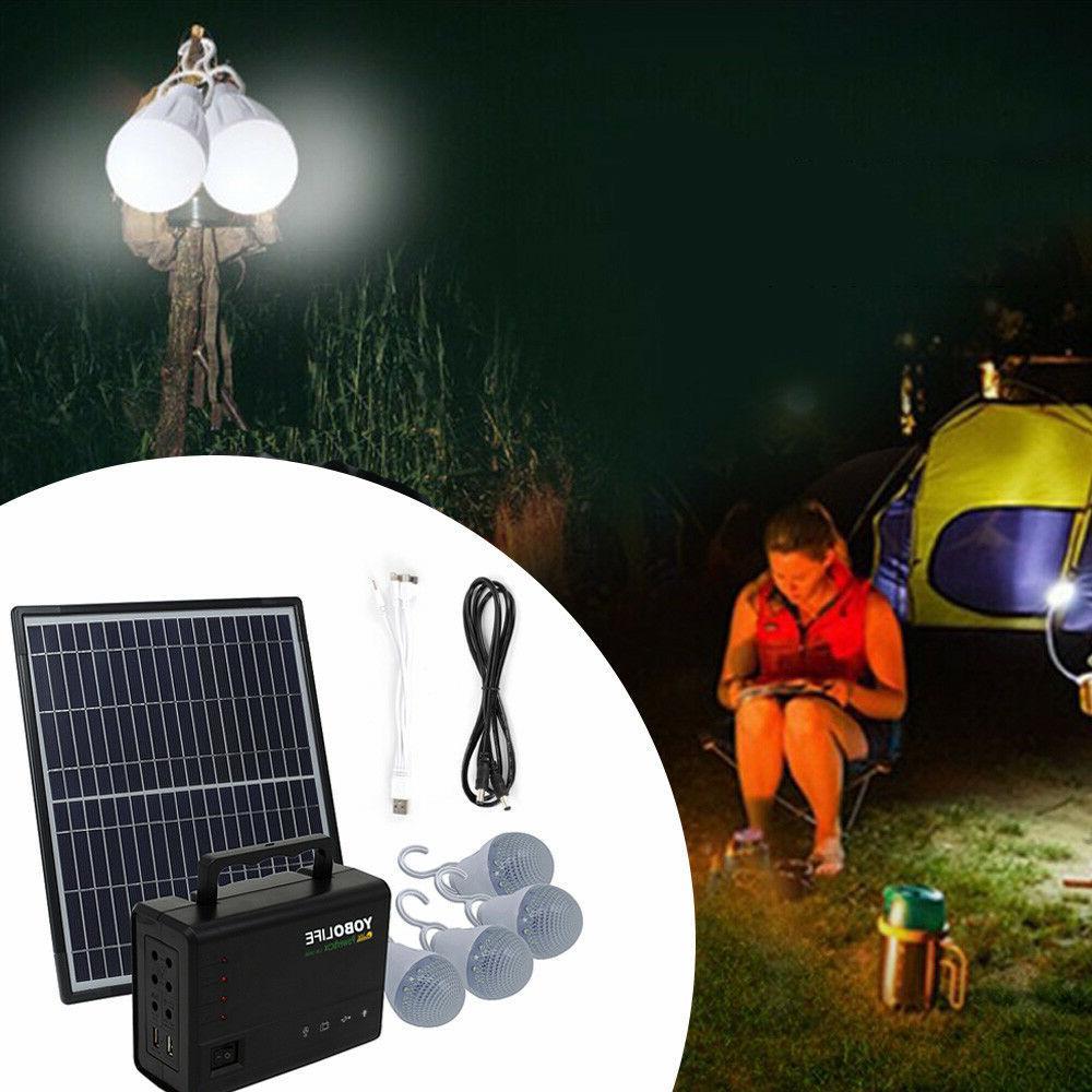 Solar Kit, Battery Power Bulb