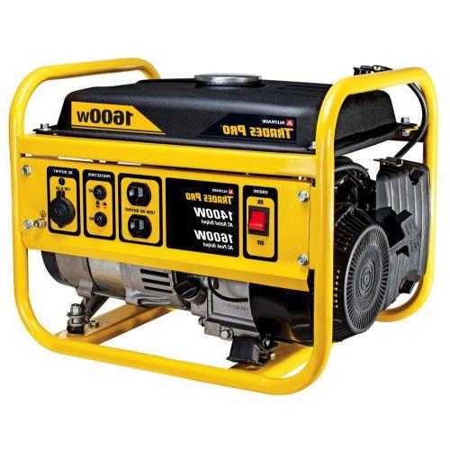 trades 1400w 1600w gas generator