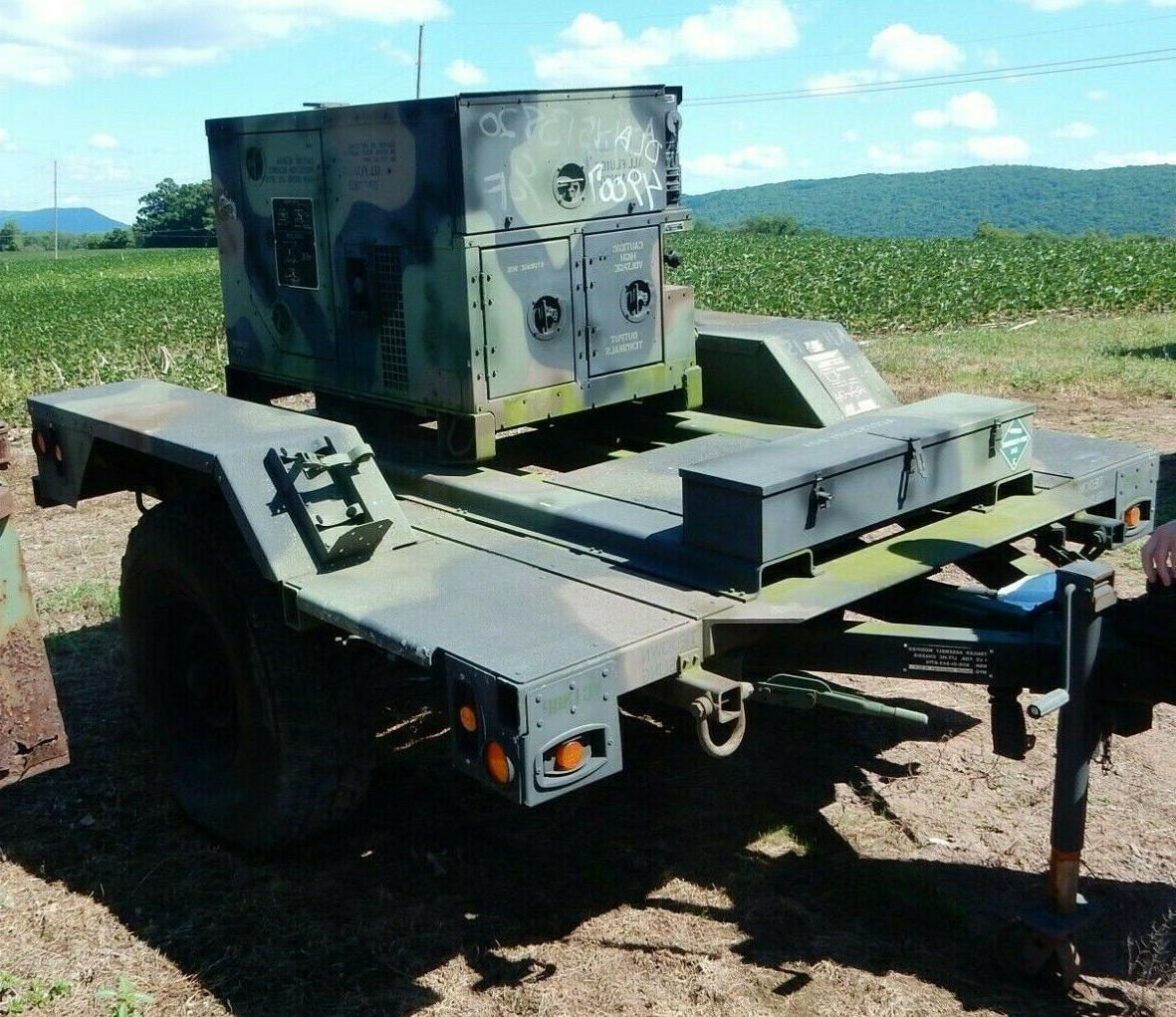 usgi 5kw 60hz diesel generator w chassis