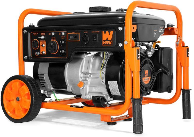 Wen 5000-Watt 120V/240V Portable Generator Wheel