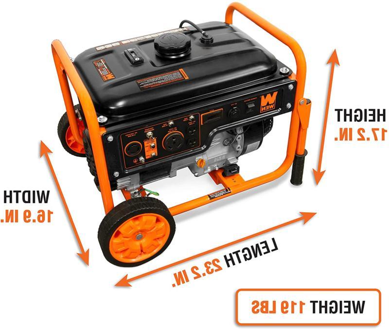 Wen 5000-Watt 120V/240V Portable Wheel
