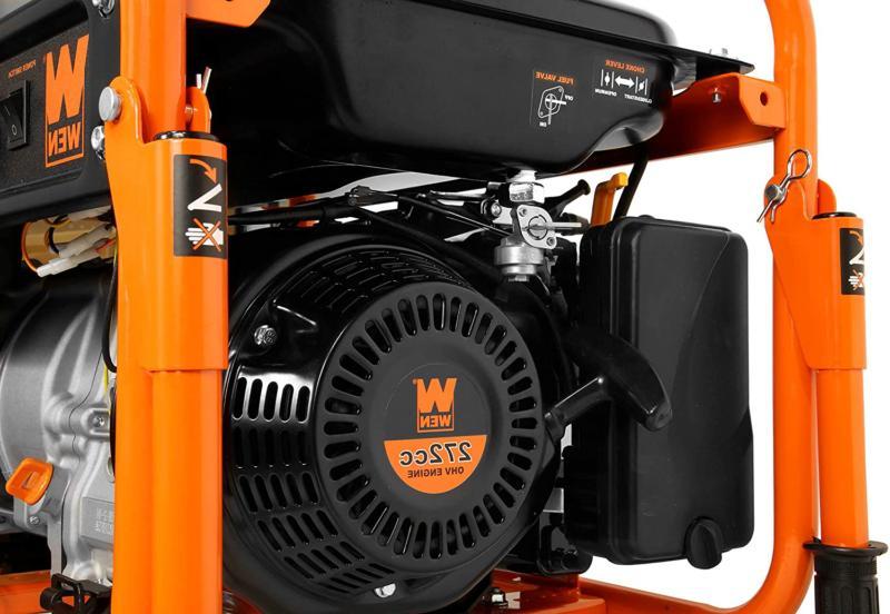 Wen 5000-Watt Rv-Ready 120V/240V Portable Generator Wheel Kit,