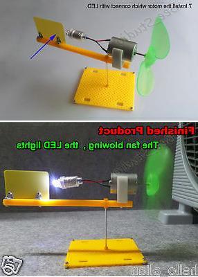 Wind Model Mini DC Motor DIY small science project kits