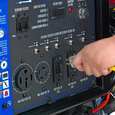 DuroMax 15000-Watt Gas Electric Portable Generator