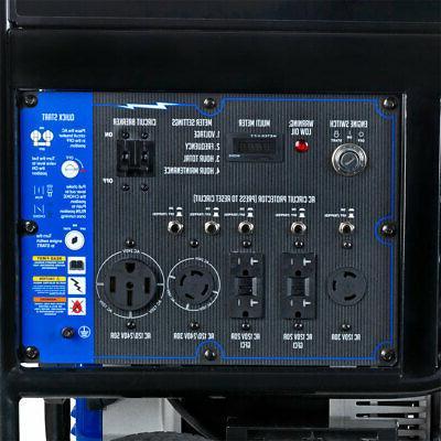 DuroMax Gas Electric Portable Generator