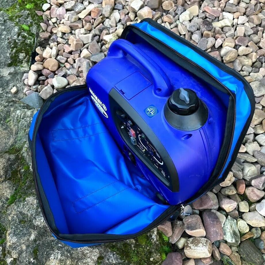 Bag for caravan camping.