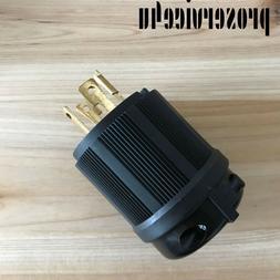 L1430P Locking Generator Plug 30A 125 250V L14-30P 30 AMP125