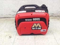 Mi-T-M 2000 Watt Portable Inverter Generator Small Quiet Eme