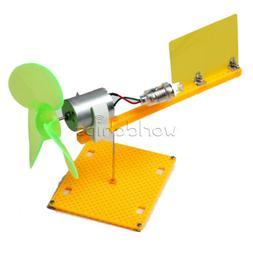 Micro Wind Turbines Generator Small DC Motor Blades with Hol