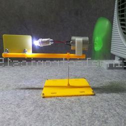 Micro wind turbines generator small DC motor blades w/ holde