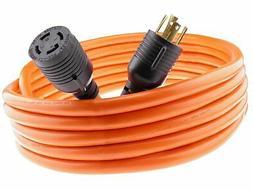 Nema L14-30 40 feet Generator Power Cord 4 Wire 10 Gauge 125