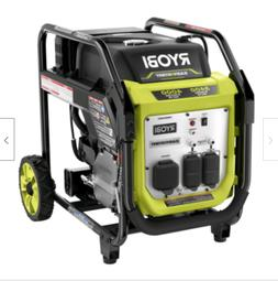 NEW! RYOBI 4000-Watt Gasoline Powered Digital Inverter Gener