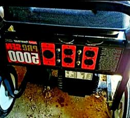 NEW Briggs & Stratton 5000 Watt Portable Generator. Comes wi