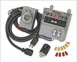 Generator Transfer Switch Kit Portable Circuit Emergency Sta