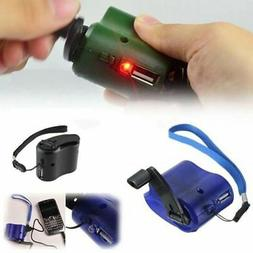 Portable Emergency Hand Crank Mobile Phone Generator Dynamo