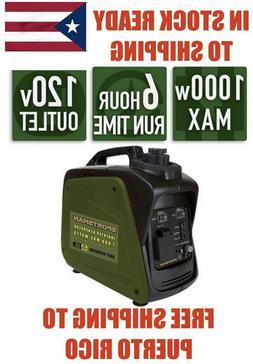 New Portable Power Generator Sportsman 1000 Watt Inverter Ga