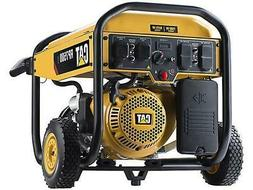 Cat RP7500E Gas Powered Portable Generator with Electric Sta