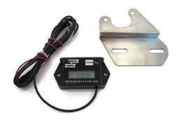 The ROP Shop Tiny Tach Digital Hr. Meter Tachometer & Bracke