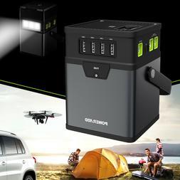 Poweradd 50000mAh Charger Center Portable Generator DC/AC Po